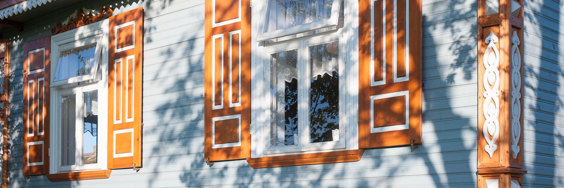 Otwarte okiennice - Wieś Podlaska