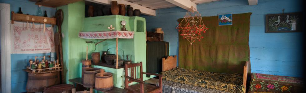 Wnętrze Muzeum Małej Ojczyzny w Studziwodach