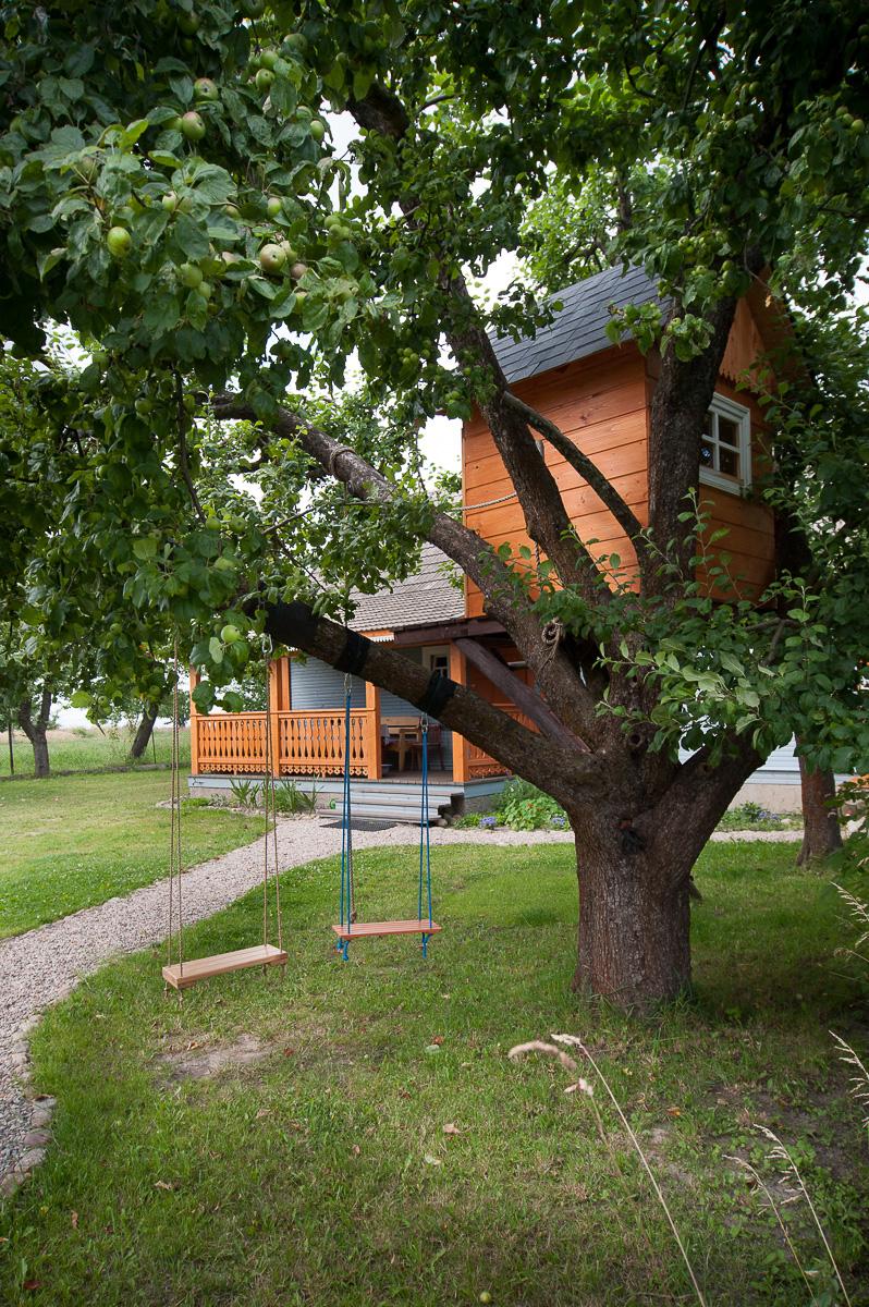 Agroturystyka Hajnówka Białowieża - domek na drzewie przy Etno Kwaterze Korolowa Chata