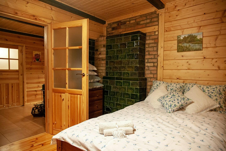 Chata Knyszewicze sypialnia