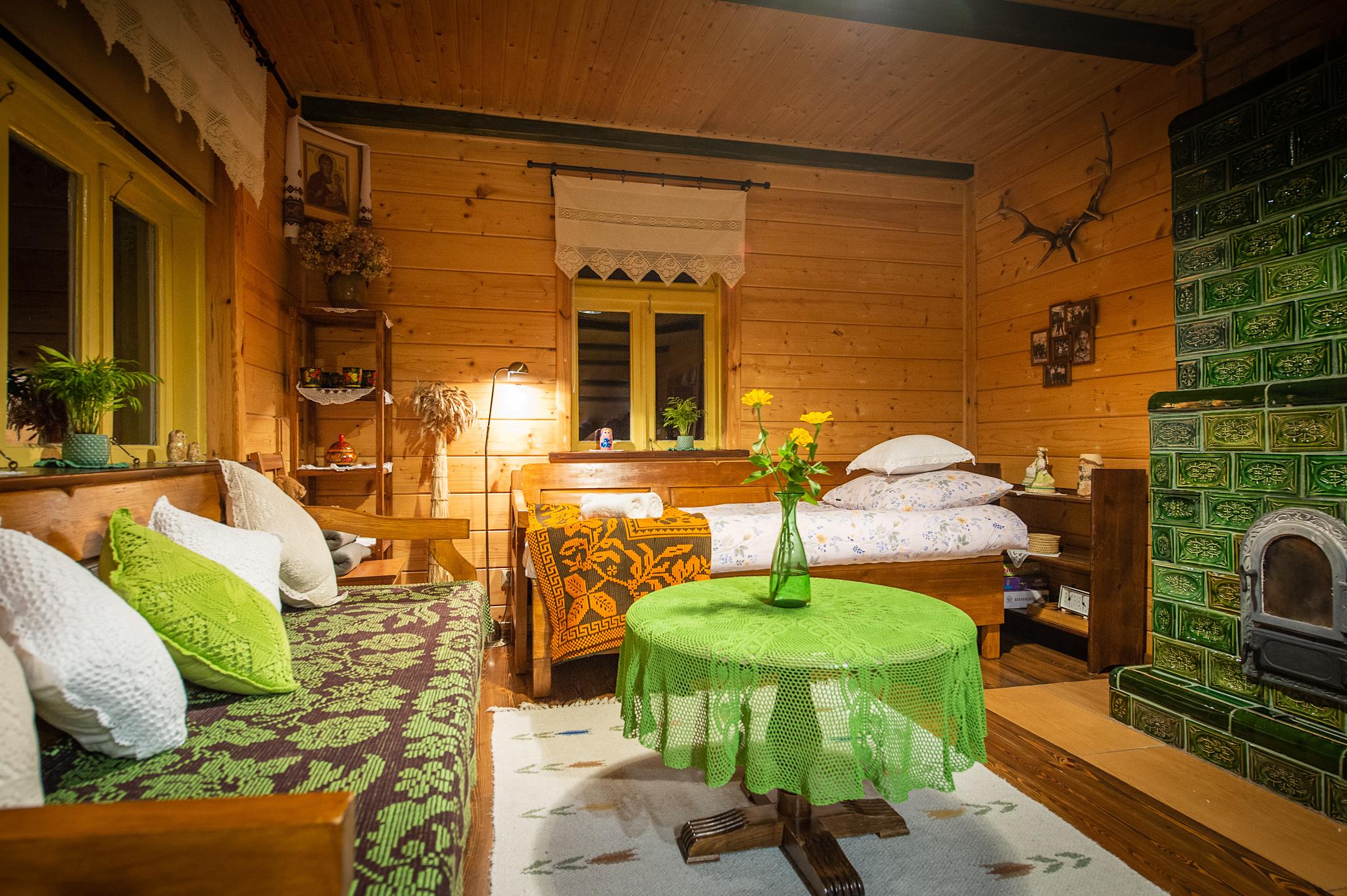 Chata Knyszewicze duża izba